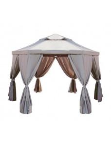Тент с москитной сеткой для шатра Гексагон