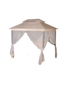 Тент крыша с АМС на качели Ницца Бежевые