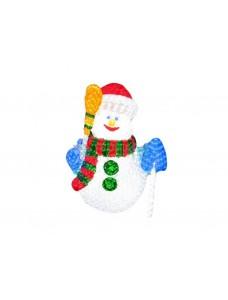 Световой Снеговик 120 см